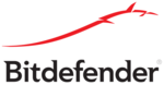 Logo bitdefender red white
