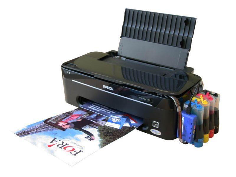 принтер с заправляемыми картриджами купить