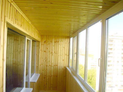 Утепление и обшивка балконов и лоджий в уфе.