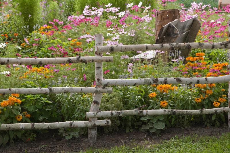 Сад в деревенском стиле своими руками 94