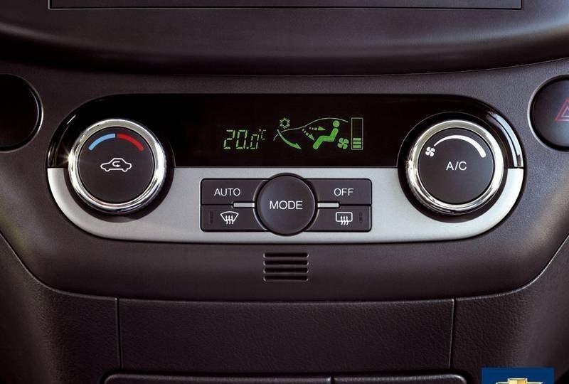 Климат контроля в автомобиле