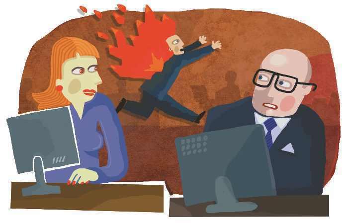 Прикольные картинки о коллегах по работе короткие
