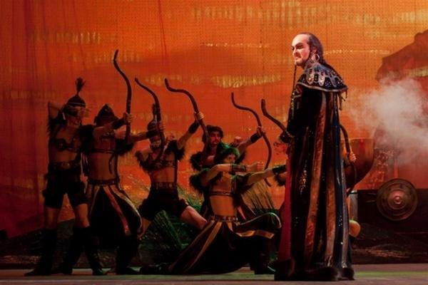 Опера князь игорь ария кончака