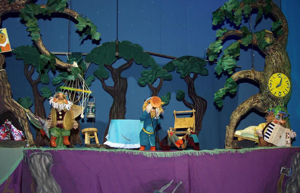 Декорации для кукольного театра картинки
