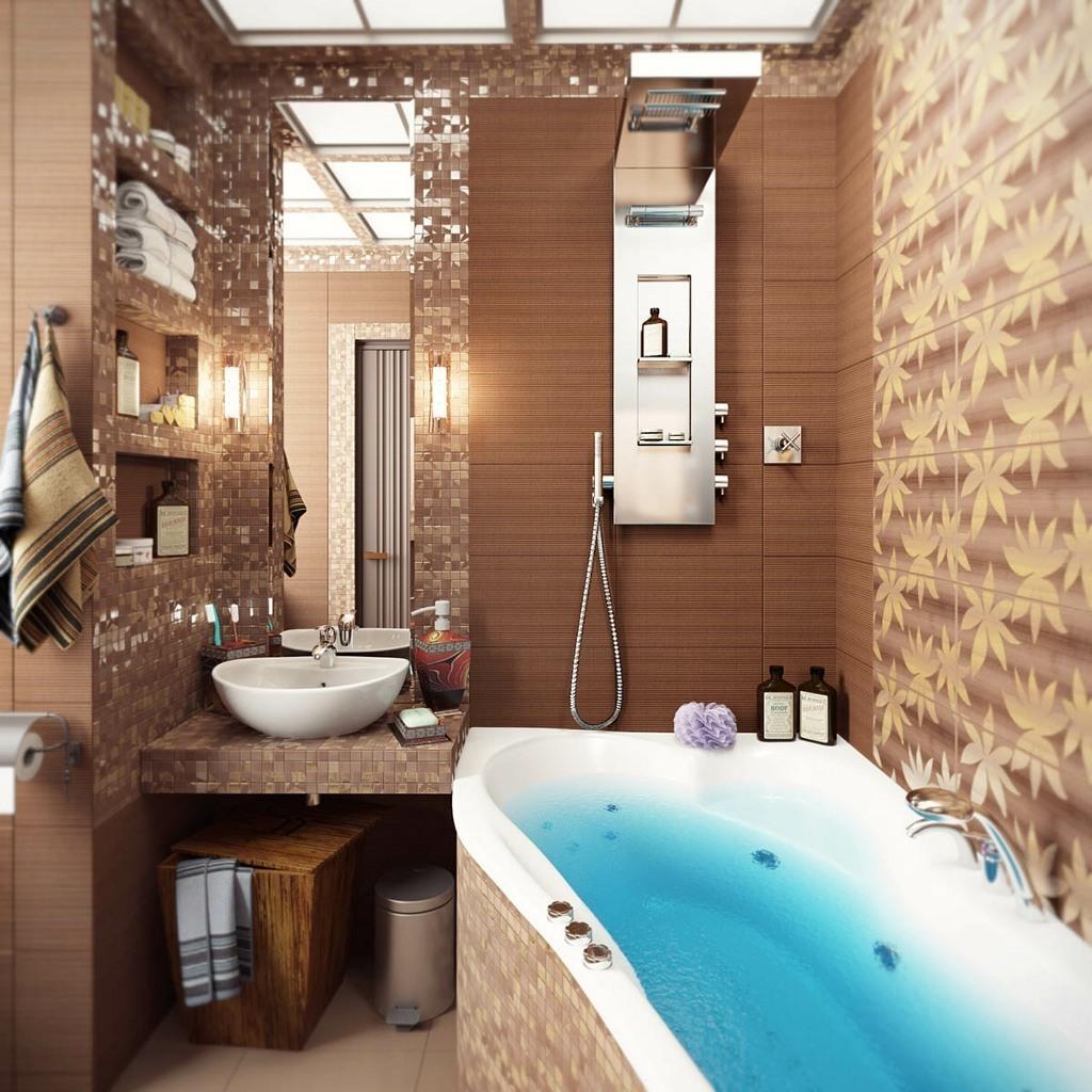 Сделать дизайн ванной комнаты
