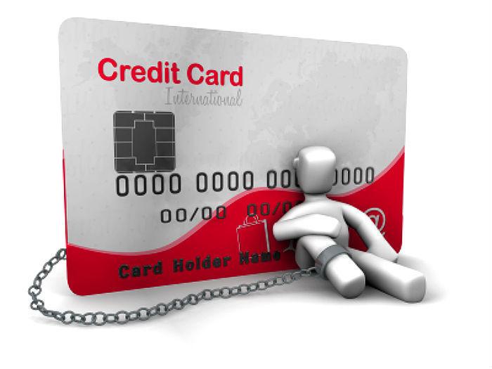 просрочена кредитная карта