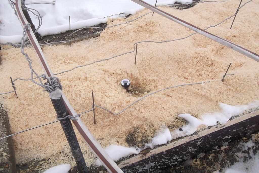 технология прогрева бетона в зимнее время