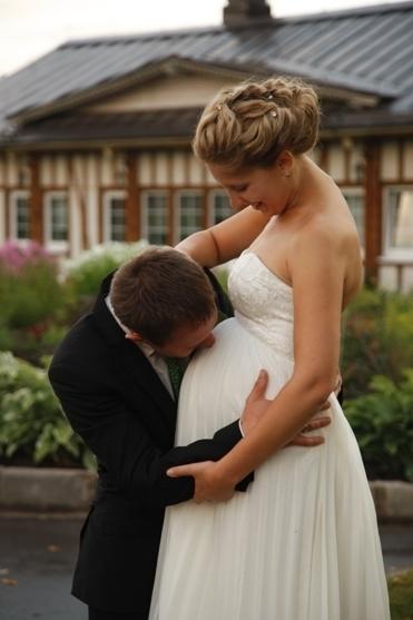 Идеи для свадебного с беременной невестой