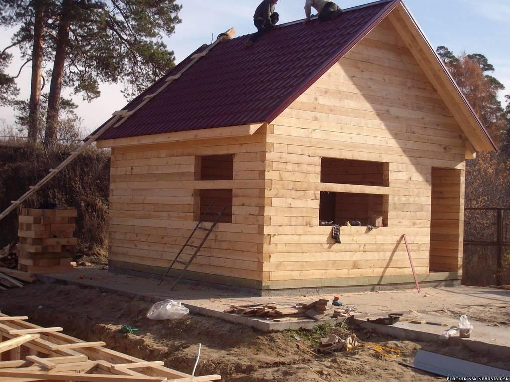 Строительство дома своими руками под ключ из бруса 92