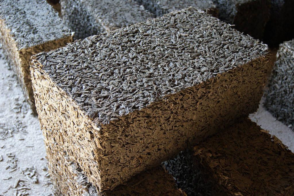 древесные блоки