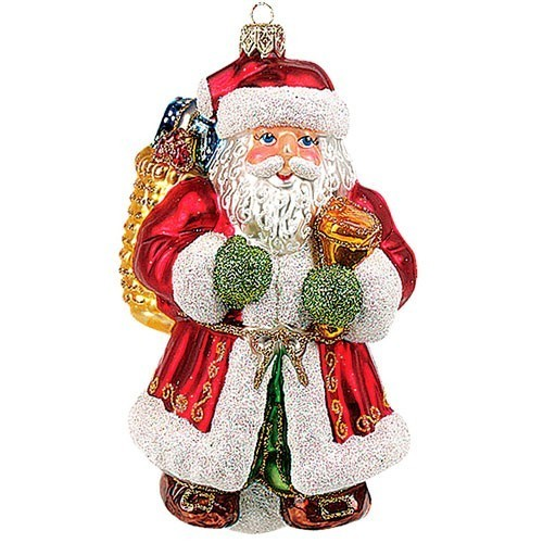 игрушка новогодняя деда мороза своими руками
