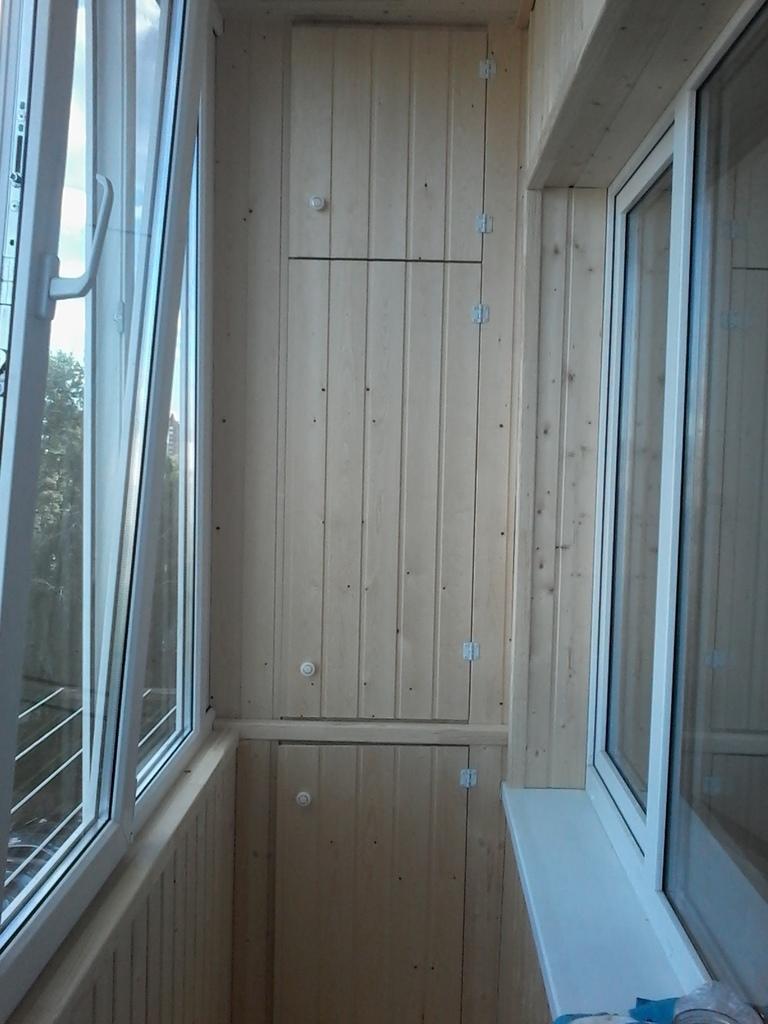 Остекление и обшивка балконов и лоджий в уфе.