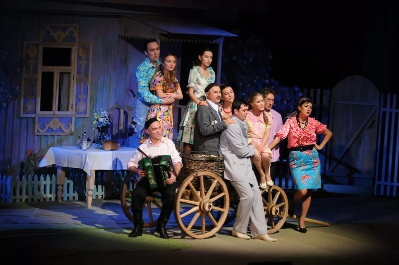 Презентация татарского театра нур