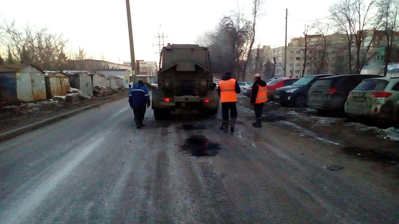 Ямочный ремонт дорог вБалашихе планируют закончить до15июня