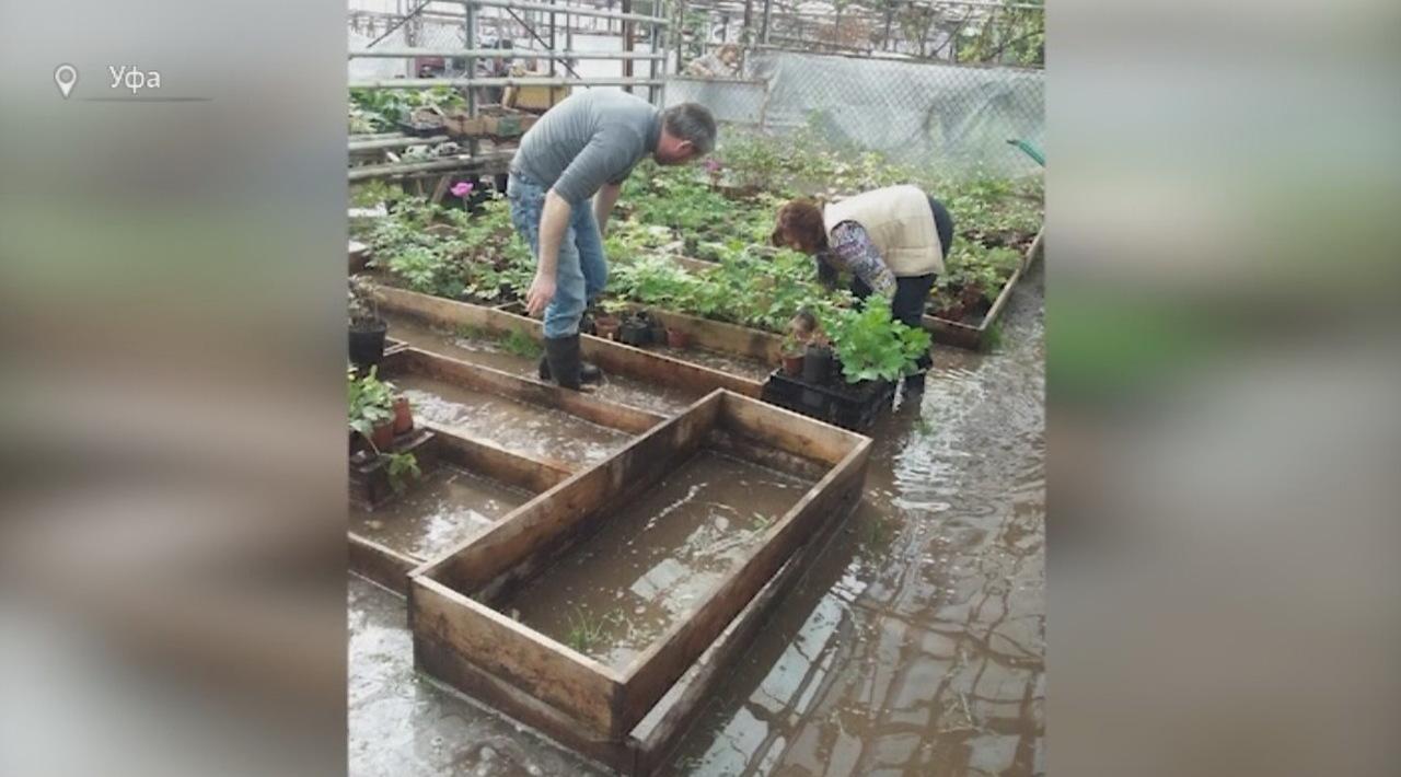 В 7-ми районах Волгоградской области подтопленными остаются 66 домов