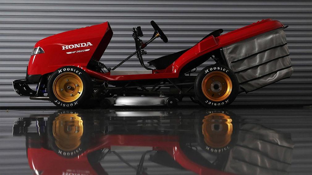Хонда разработала сверхбыструю газонокосилку ради нового рекорда