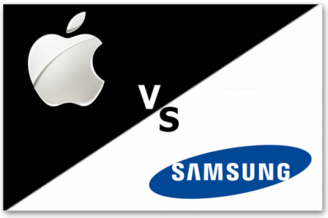 apple v samsung Samsung has high hopes for the galaxy s8, and rightfully so.