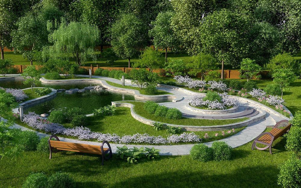 Дизайн ландшафтный в уфе